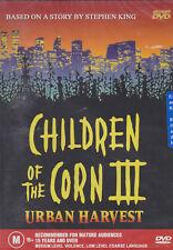 Children Of The Corn 3 - Urban Harvest (DVD) 1995 Stephen King - Daniel Cerny