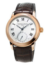 Frederique Constant Men's FC-710MC4H4 Automatic Brown Leather Strap 42mm Watch