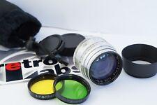 JUPITER 3 Red P 50mm f1.5 Russian Rangefinder lens screw M39 + Adapter Sony NEX