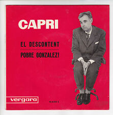 "CAPRI Joan Vinyl 45 tours SP 7"" CPOBRE GONZALEZ - VERGARA 950035 F Reduit RARE"