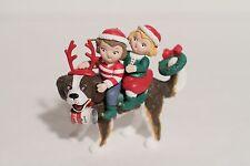 Campbell's Soup Kids Ornament on St. Bernard Dog 1994