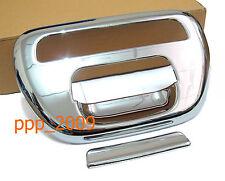 Chrome Tailgate Handle Cover Trim MITSUBISHI TRITON L200 05 06 07 08 09 10 11 12