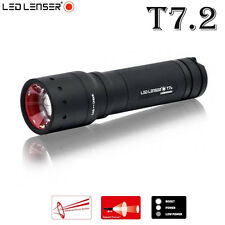 New Led Lenser T7.2 9807  Tactical 320LM focusing outdoor torch flashlight
