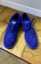 Puma suede blue mens sneakers 10 NEW