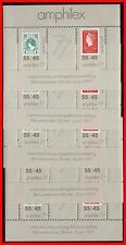 NETHERLANDS 1977 AMPHILEX STAMP SHOW S/S Sc.#B538ax5 CV$12.00 WHOLESALE NA-AL