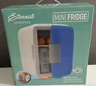 Eternal Lifestyle PG93983 Mini Fridge, AC/DC, Hold 6 Cans, Office, Dorm, Car-NEW photo