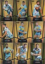 2015 NRL ELITE GOLD PARALLEL TEAM SET TRADING CARDS - GOLD COAST TITANS
