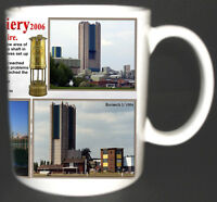 HARWORTH COLLIERY COAL MINE MUG LIMITED EDITION GIFT MINERS NOTTINGHAMSHIRE PIT