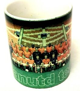 Manchester United Team 1999 Crested Ceramic Cups Coffee Tea Mug