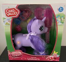 NEW Chad Valley Dream Kingdom Princess Unicorn + Hairbrush Comb,4 slides purple