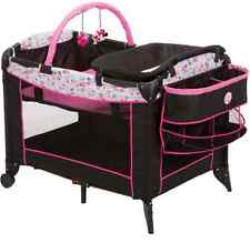 Bassinet Play Yard Crib for Girls Portable Changer Cradle Storage Minnie Mouse