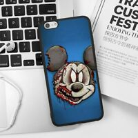 Disney Cartoon Silicone Case Cover Skin Mickey Mouse for iPhone6 7 8 Plus X XS