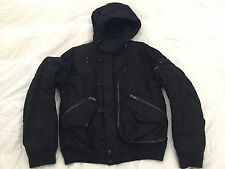RALPH LAUREN Black Label Buoy Snorkel Quilted Field Jacket Aviator Navy Men L