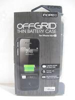 Incipio offGRID Backup Battery Case For iPhone 4/4s Matte Gunmetal