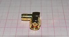 90° SMA Adapter Stecker Buchse Winkelstecker Winkel (kein RP)