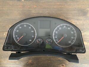 05-10 VOLKSWAGEN/VW JETTA 2.5L  SPEEDOMETER/INSTRUMENT/GAUGES/CLUSTER/SPEEDO
