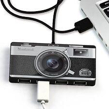 Moutarde Hub USB 2.0 4 ports Universel-Superhub Caméra