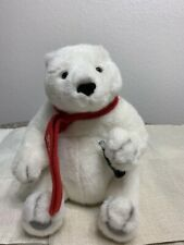 "Coca Cola Bear Teddy Plush 2000 Stuffed Animal, 10"""