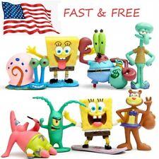 8pc Spongebob SquarePants Tentacles Patrick Star Action Figure PVC Toys USA