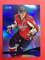2012-13 Panini Certified Mirror Blue Parallel #8 Alex Ovechkin 13/99 Washington