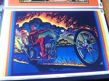 Vintage Honda CB750 Chopper Poster Man Cave Garage Art Dad