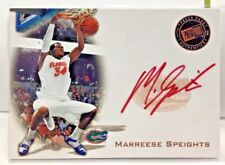 Marreese Speights 2008 Press Pass RC - RED INK on-card Autograph Auto SSP SP