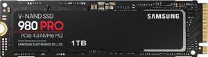 Samsung - 980 PRO 1TB PCIE 4.0 x4 NVMe Gen4 Internal Gaming SSD M.2 for Lapto...