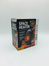 Zen Heater Plug In Personal Space Heater 400 Watts, LED DISPLAY, AUTO SHUT OFF