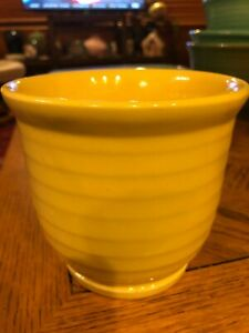 Bauer Pottery Ring Ware Beater Bowl   bright yellow
