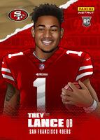 2021 PANINI Instant NFL Draft Night Trey Lance Rc Illustration Series - Pre-Sale