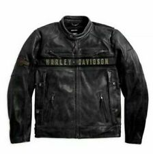 Men's Biker Distressed Black Motorcycle Real Cow Leather Jacket