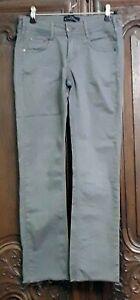 Pantalon Cimarron gris, coupe jean, T:28.