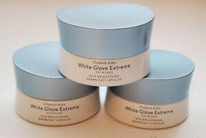 Elizabeth Arden White Glove Extreme Skin Brightening Overnight Caps. Lot of 3