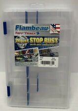 Flambeau Zerust Outdoors Tuff Tainer 4007 Storage Box w/ Dividers See Condition