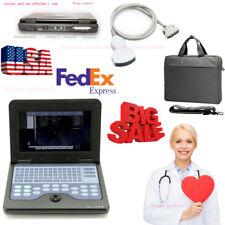 FDA CONTEC CMS600P2 Portable Laptop Ultrasound Scanner Diagnostic Machine,Convex