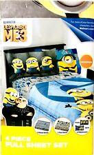 Franco Illumination Despicable Me Minions 3 Microfiber 4 Piece Full Sheet Set