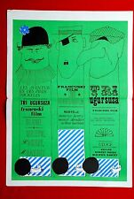 LES AVENTURES DES PIEDS NICKELES FRENCH COMEDY 1960's RARE EXYU MOVIE POSTER