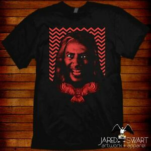 Bob Twin Peaks T-shirt inspired by the David Lynch TV series & movie fire walk..