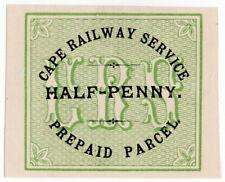 (I.B) Cape of Good Hope : Cape Railway Service - Parcel ½d