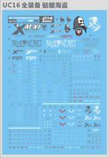MG 1/100 CROSSBONE FullCloth X1 Gundam Model Kit Water Decal UC16
