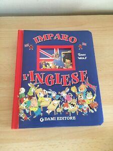 LIBRO IMPARO L'INGLESE TONY WOLF DAMI 2004