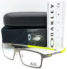 NEW Oakley OX3232 RX Base Plane Frame Silver OX3232-0652 52mm Metal Square Wire