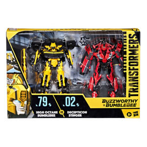 Transformers SS Buzzworthy Deluxe 79BB High Octane Bumblebee 02BB Stinger