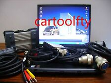 Top quanlity MB compact C3 star can test car truck+ Xentry 09/2015 +D630 laptop