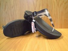 f06eef741fb982 Fitflop Women Superjelly with Stripe Open Toe Sandals