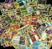 10x Pokemon cards Lot Guaranteed Rare + Holo / Reverse holo US Seller! Kids Gift