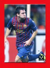 MESSI OFFICIAL CARD - Barcellona Card Icons - n. 32 - UEFA SUPER CUP 2011 -New