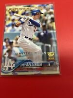 """2018 Topps Cody Bellinger Rookie Cup Los Angeles Dodgers #42 """"Tiffany Set"""" Rare"""