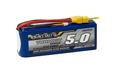 RC Turnigy Heavy Duty 5000mAh 3S 60C Lipo Pack w/XT-90