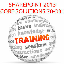 SHAREPOINT 2013 CORE SOLUTIONS 70-331 - Video Training Tutorial DVD